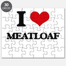 I Love Meatloaf Puzzle
