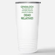 Funny Ancestry Travel Mug