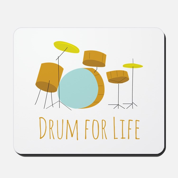 Drum For Life Mousepad