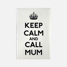 Keep Calm and Call Mum Rectangle Magnet