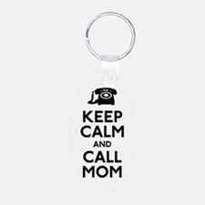 Keep Calm and Call Mum Keychains