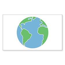 Globe Decal