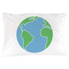 Globe Pillow Case