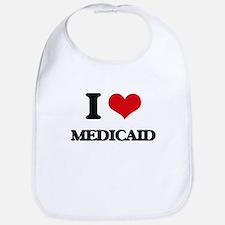 I Love Medicaid Bib