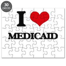I Love Medicaid Puzzle