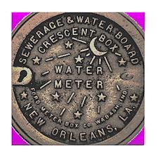 New Orleans Water Meter Tile Coaster