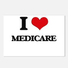 I Love Medicare Postcards (Package of 8)