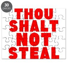 Thou Shalt Not Steal Puzzle