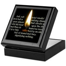 Out Brief Candle Keepsake Box