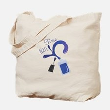 Nail Time Tote Bag