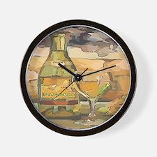 PORCESSO wINE Wall Clock