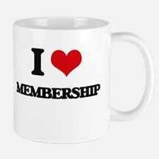 I Love Membership Mugs