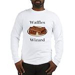 Waffles Wizard Long Sleeve T-Shirt