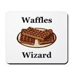 Waffles Wizard Mousepad