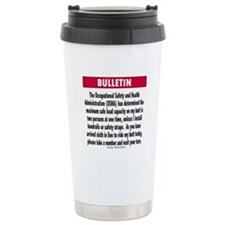 Unique Health and safety Travel Mug