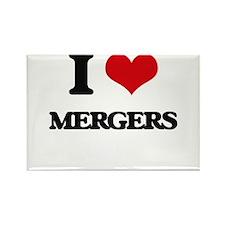 I Love Mergers Magnets