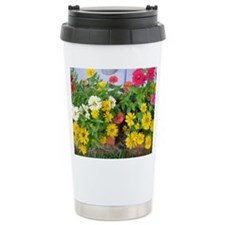Unique Flowers Travel Mug