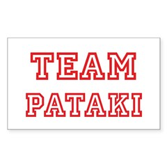 Team PATAKI (red) Rectangle Decal