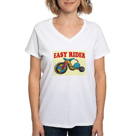 EASY RIDER Women's V-Neck T-Shirt