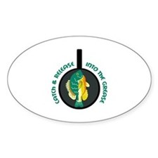 CATCH AND RELEASE Decal