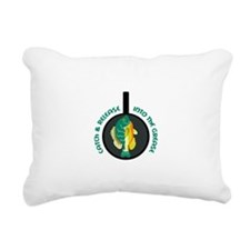 CATCH AND RELEASE Rectangular Canvas Pillow