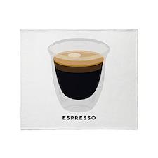 Espresso 1 Throw Blanket
