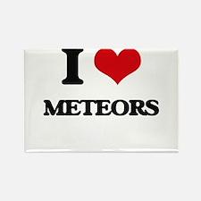 I Love Meteors Magnets