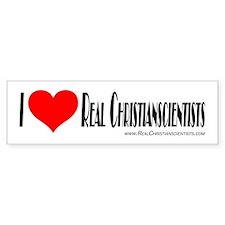 Real Christianscientists Bump Bumper Bumper Sticker