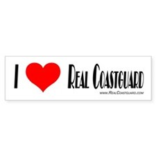 Real Coastguard Bumper Sticke Bumper Car Sticker
