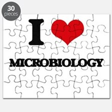I Love Microbiology Puzzle