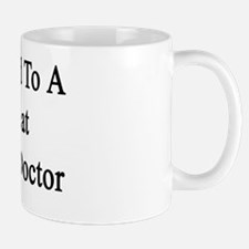 Married To A Great Eagle Doctor  Mug