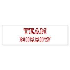 Team MORROW (red) Bumper Bumper Sticker
