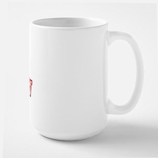 Team MORROW (red) Large Mug