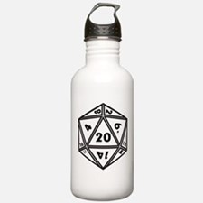 D20 White Water Bottle