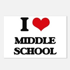 I Love Middle School Postcards (Package of 8)