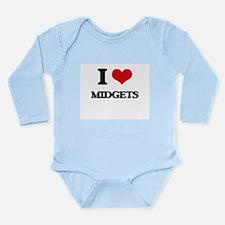 I Love Midgets Body Suit