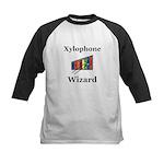 Xylophone Wizard Kids Baseball Jersey