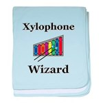 Xylophone Wizard baby blanket