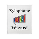 Xylophone Wizard Throw Blanket