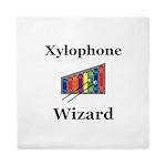Xylophone Wizard Queen Duvet
