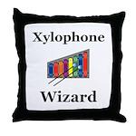 Xylophone Wizard Throw Pillow