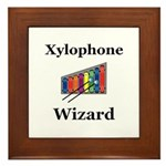 Xylophone Wizard Framed Tile