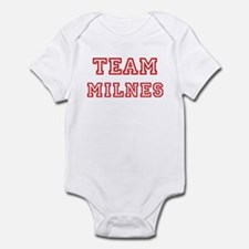 Team MILNES (red) Infant Bodysuit