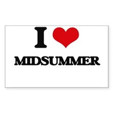 I Love Midsummer Decal