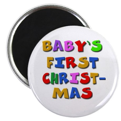 Baby's first Christmas Magnet (10 pk)