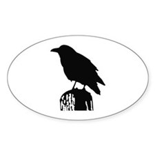 RAVEN SILHOUETTE Decal