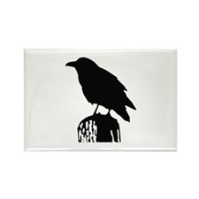 RAVEN SILHOUETTE Magnets