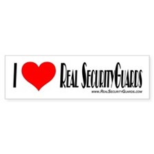 Real Security Guards Bumper S Bumper Bumper Sticker