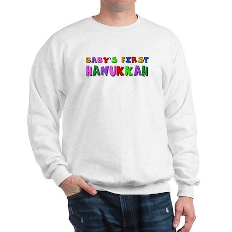 Baby's first Hanukkah Sweatshirt