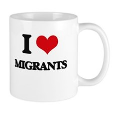 I Love Migrants Mugs
